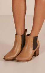 Verali - Samson Boots in tan