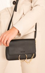 Saw It Coming bag in black