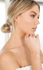 Sia earrings in gold