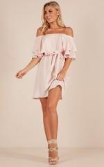 So Divine dress in blush