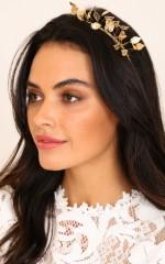 Stella headband in gold