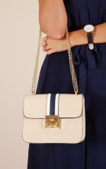 Sugarcoat bag in cream and navy