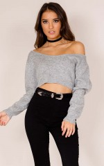 Sweet Sounds Knit in grey marle