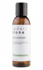 Cedar and Stone - sweet orange and burdoch face cleanser