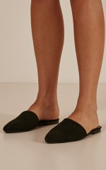 Therapy - Finney in black suede