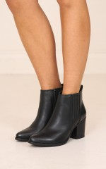Therapy Shoes - Creston in burnished black