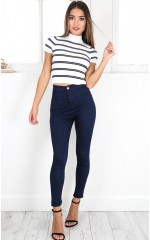 Twiggy jeggings in indigo