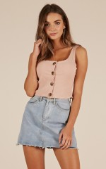 Young Lover top in mocha