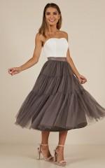 Midnight Baby skirt in grey