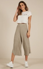 Keep Me Going pants in grey