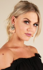 Into You earrings in blush