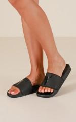 Windsor Smith - Inka Slides in black