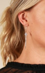 Like It Better earrings in silver