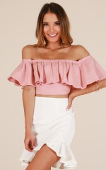 Forever Now top in blush