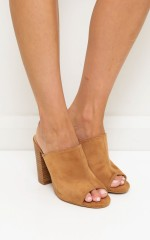 Billini - Pascal in tan suede