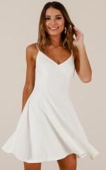Last Forever dress in white