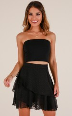 Join The Club skirt in black