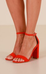 Billini - Jessa in red suede