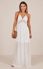 Sun And Fun maxi dress in white