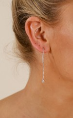 My Only One earrings in silver