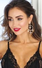 Ballin earrings in gold