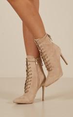 Billini - Narla Boots in stone micro
