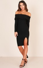 Wild At Heart dress in black