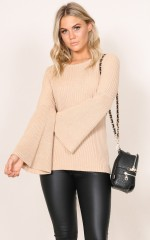Crowded Places knit in mocha