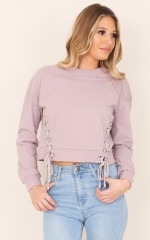 City Of Angels sweater in mauve
