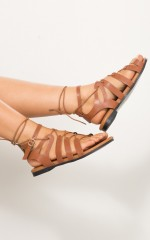 Titan Sandals in Brown