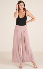 Sway My Way pants in taupe