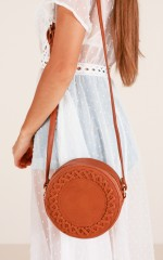 When We Were Young bag in tan