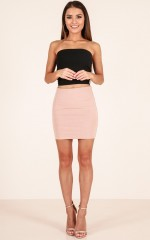 Go Girl skirt in tan
