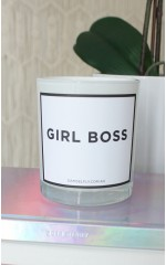 Girl Boss candle in nariel