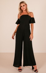 Dani jumpsuit in black