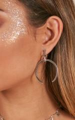 Meaningful Night earrings in silver