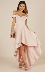 Minute To Midnight dress in blush