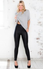 Fight Club jeggings in black