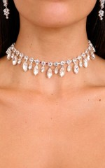 Breathe You In choker in silver