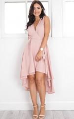 Creation Dress in blush