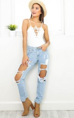 Django boyfriend jeans in blue