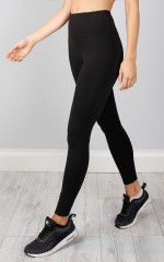 Don't Wait tights in black