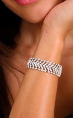 First Impression bracelet in silver