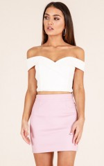 Forever In love skirt in pink