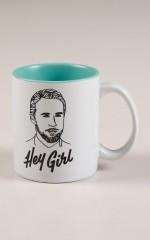 Famous Flames Mug - Hey Girl