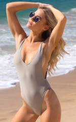 Pamela One Piece in light khaki