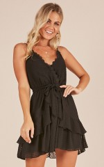 One Of A Kind dress in black