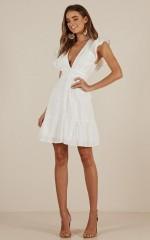 Sweet Whisper dress in white