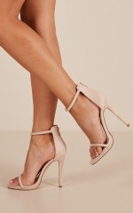 Billini - Damita Heels in blush Micro