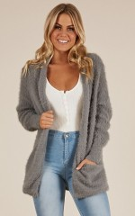 All The Stars cardigan in grey